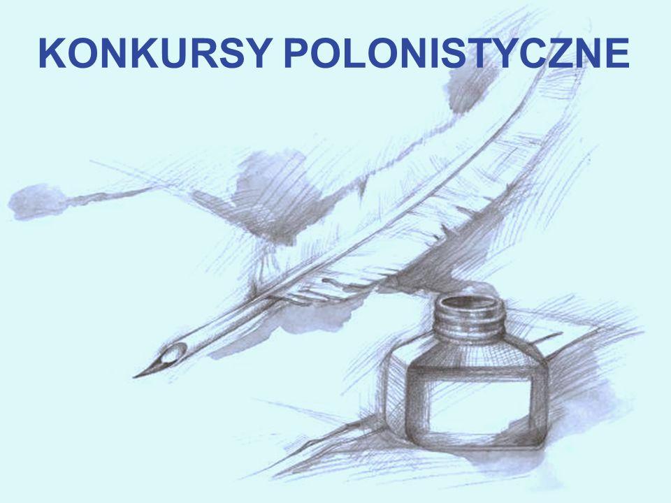 KONKURSY POLONISTYCZNE