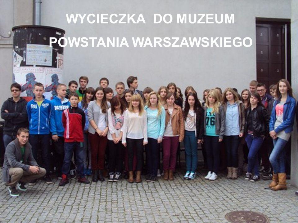 POWSTANIA WARSZAWSKIEGO