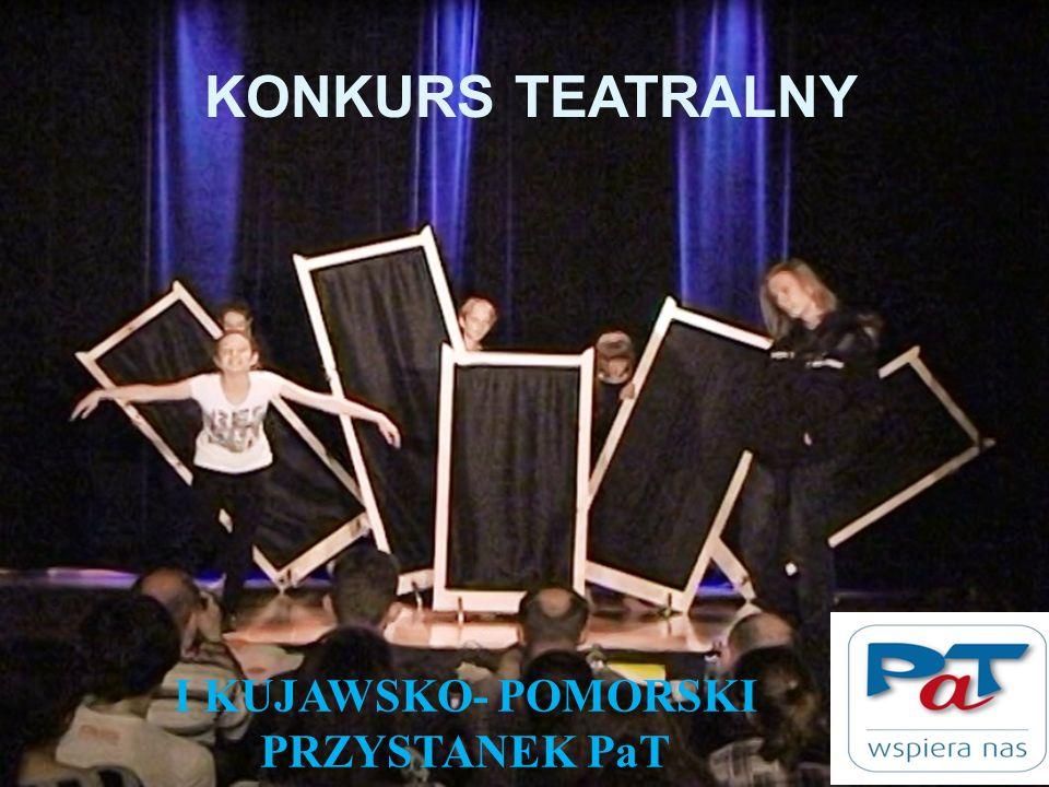 KONKURS TEATRALNY I KUJAWSKO- POMORSKI PRZYSTANEK PaT