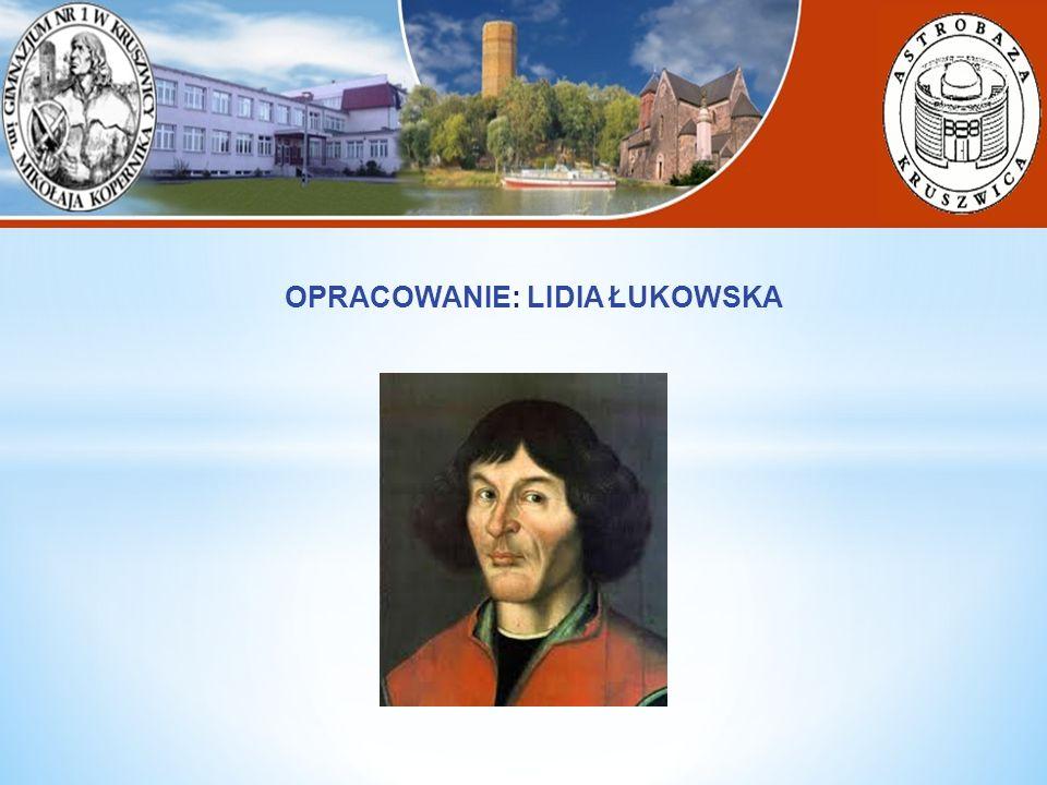 OPRACOWANIE: LIDIA ŁUKOWSKA