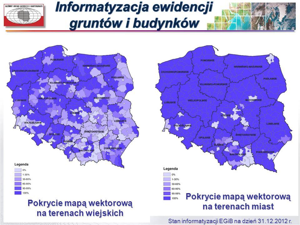 Informatyzacja ewidencji gruntów i budynków