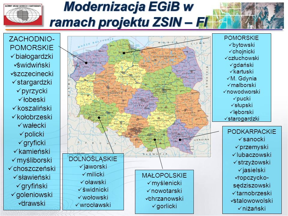 Modernizacja EGiB w ramach projektu ZSIN – FI