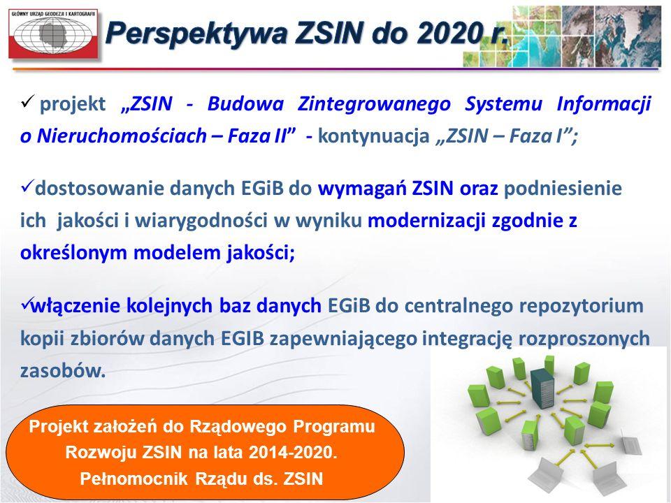 Projekt założeń do Rządowego Programu Pełnomocnik Rządu ds. ZSIN