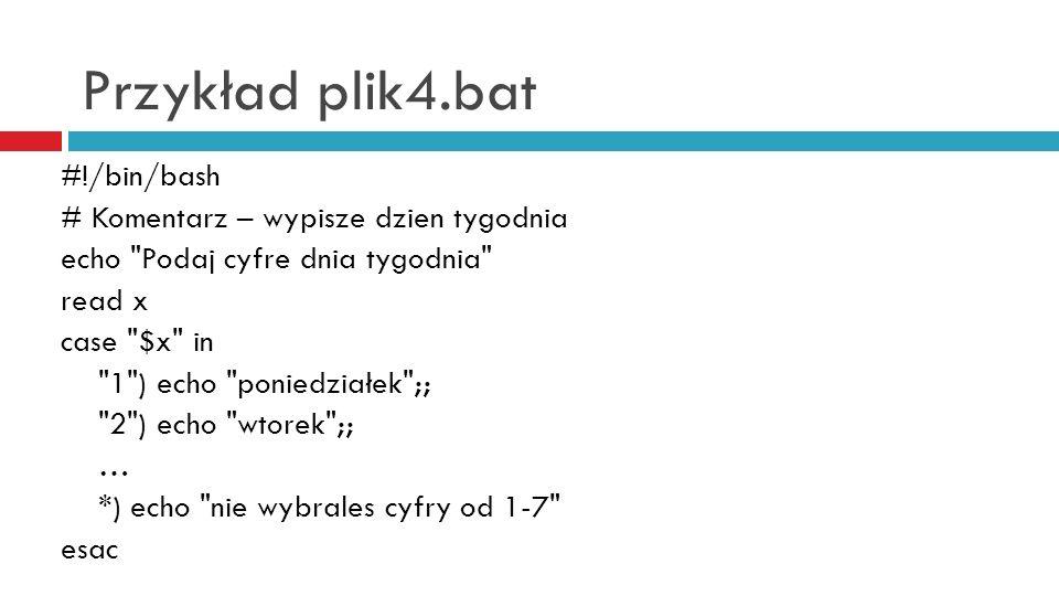 Przykład plik4.bat