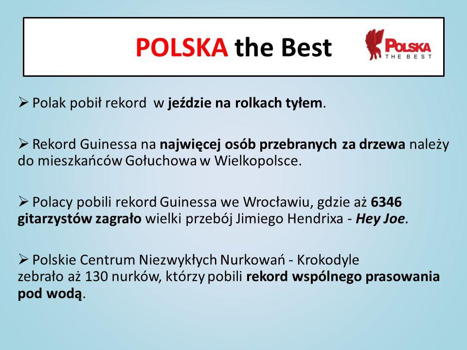 POLSKA the Best Polak pobił rekord w jeździe na rolkach tyłem.