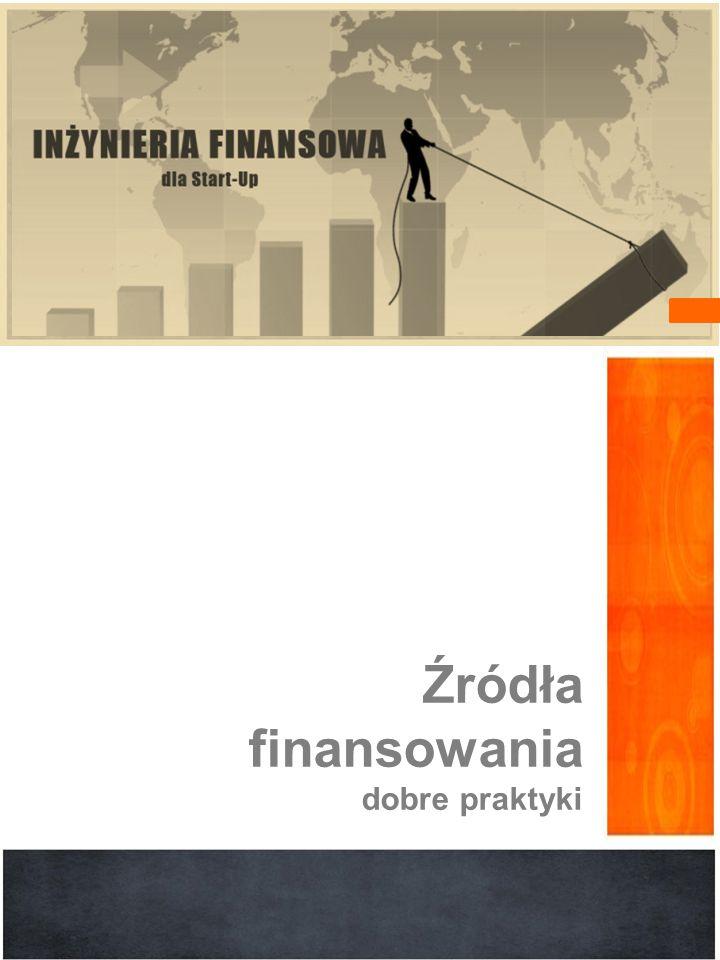 Źródła finansowania dobre praktyki