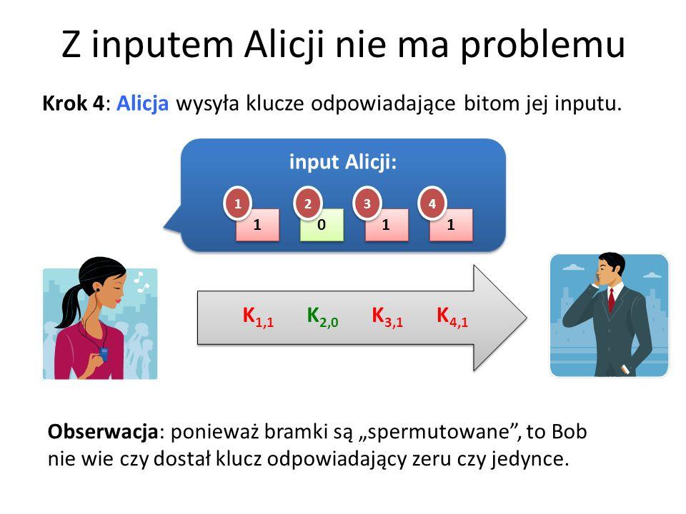 Z inputem Alicji nie ma problemu
