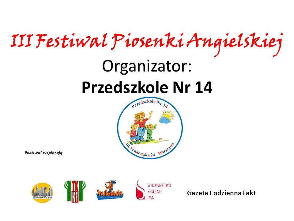 III Festiwal Piosenki Angielskiej