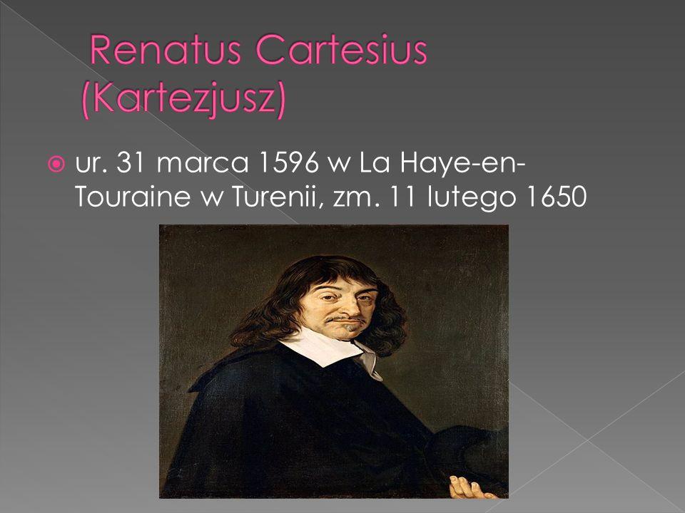 Renatus Cartesius (Kartezjusz)