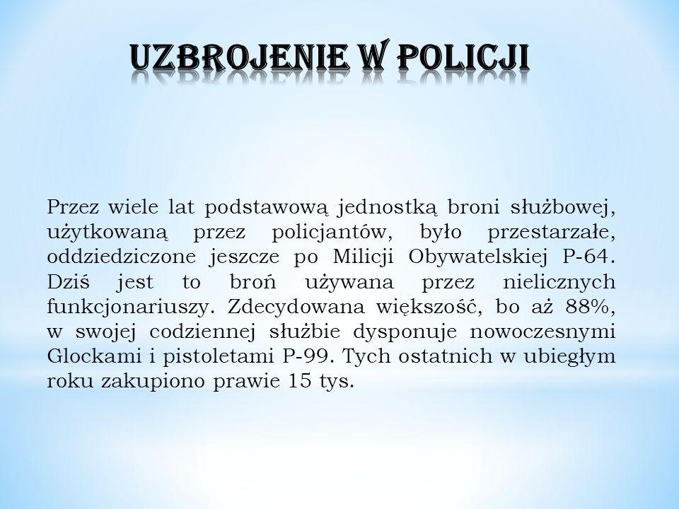 UZBROJENIE W POLICJI