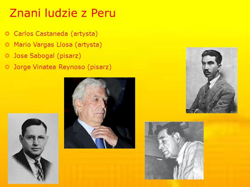 Znani ludzie z Peru Carlos Castaneda (artysta)