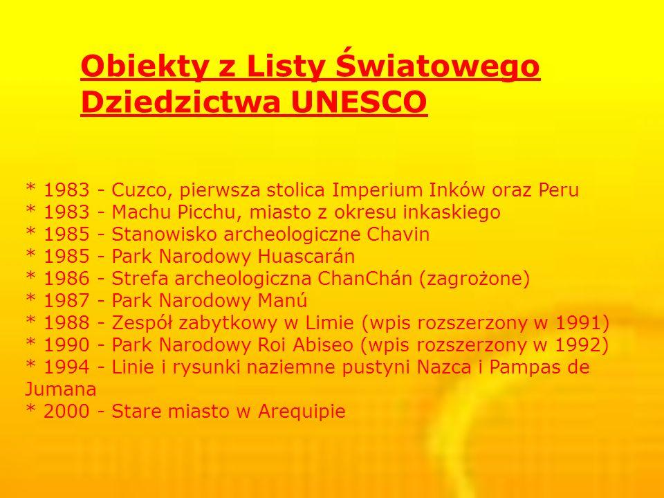 Obiekty z Listy Światowego Dziedzictwa UNESCO