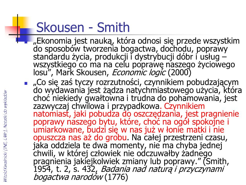 Skousen - Smith