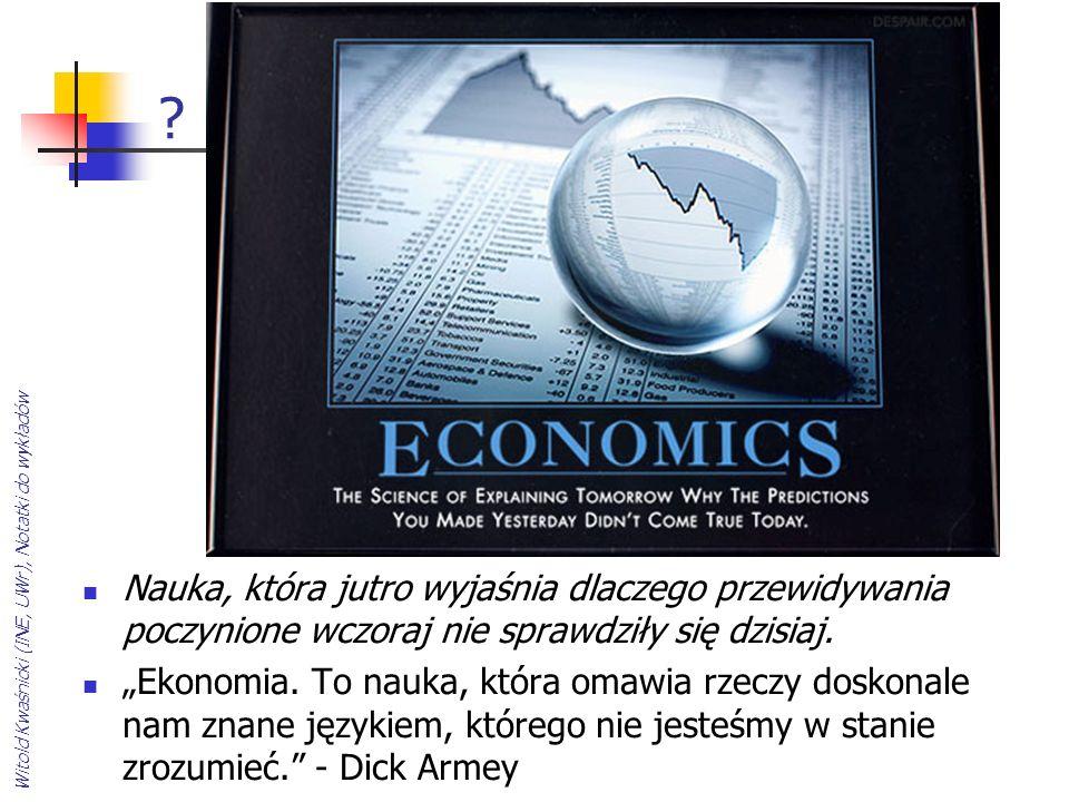 Witold Kwaśnicki (INE, UWr), Notatki do wykładów.