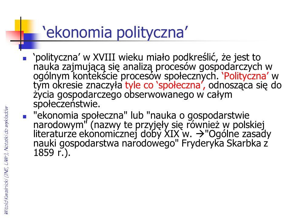 'ekonomia polityczna'