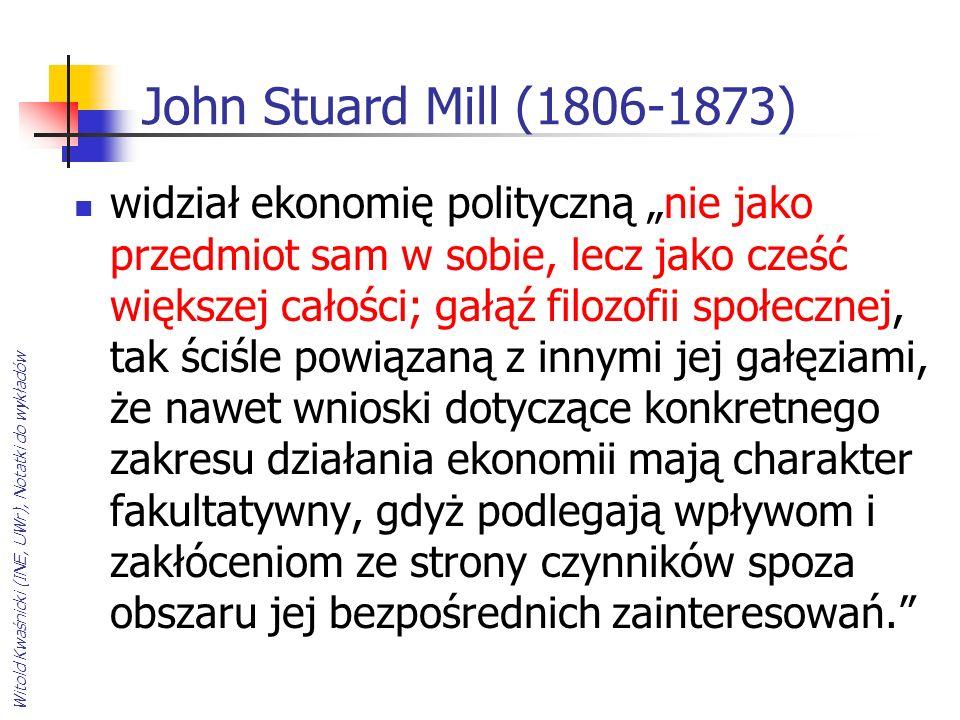 John Stuard Mill (1806-1873)