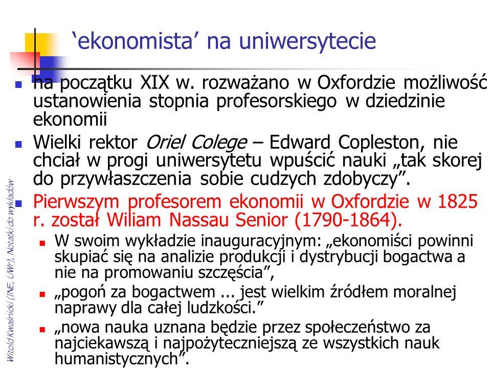 'ekonomista' na uniwersytecie