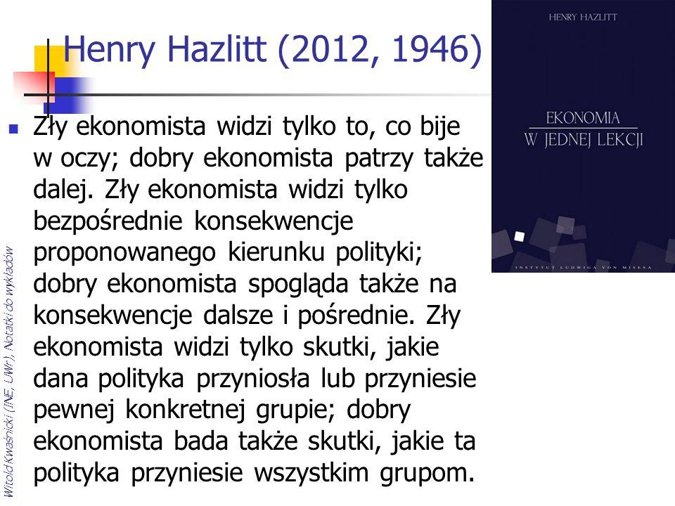 Henry Hazlitt (2012, 1946)