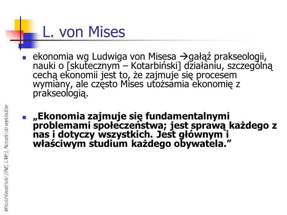 L. von Mises
