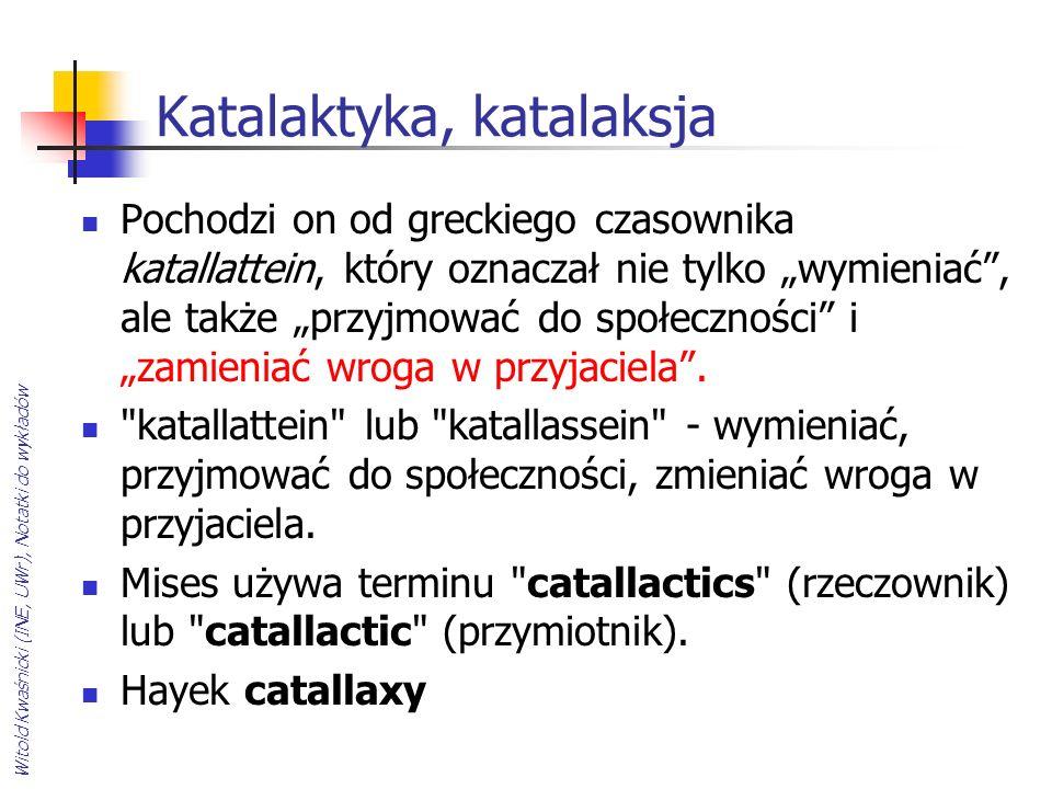 Katalaktyka, katalaksja