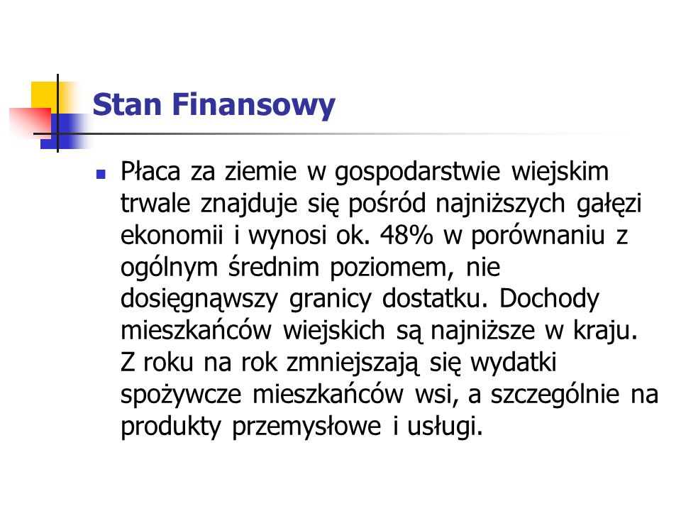 Stan Finansowy