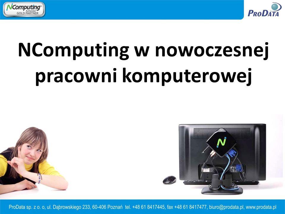 NComputing w nowoczesnej pracowni komputerowej