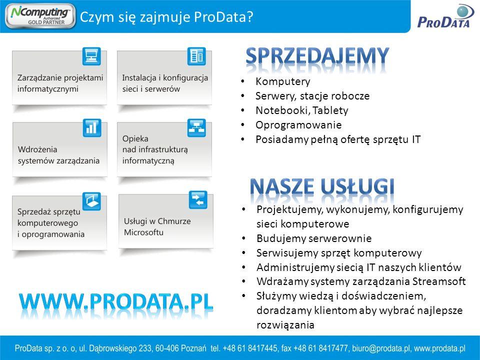 Sprzedajemy Nasze usługi www.prodata.pl