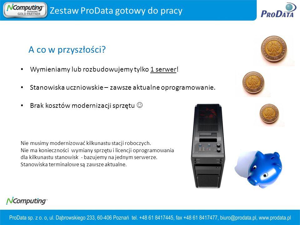 Zestaw ProData gotowy do pracy
