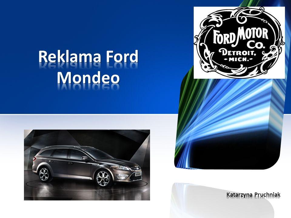 Reklama Ford Mondeo Katarzyna Pruchniak