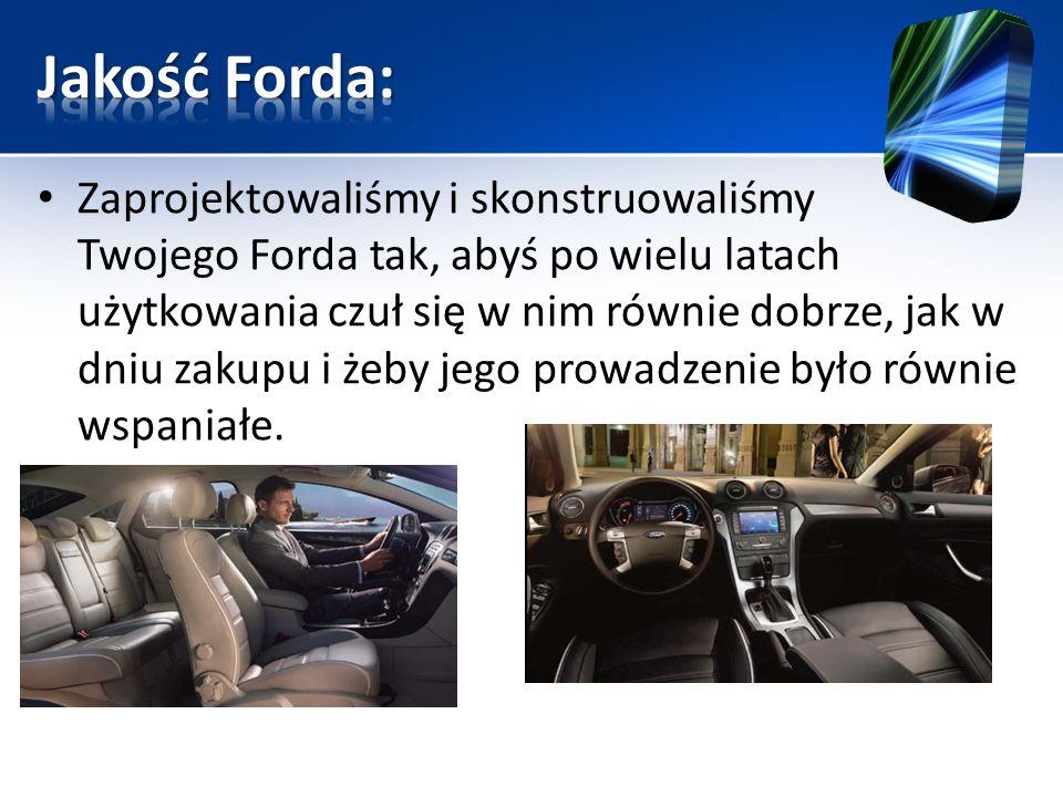 Jakość Forda: