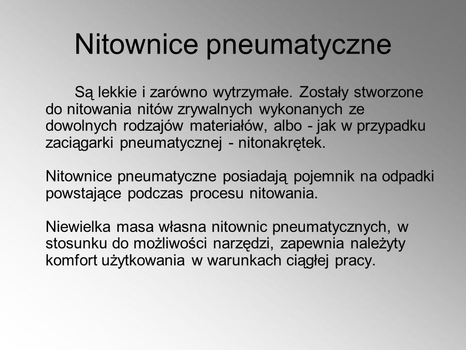 Nitownice pneumatyczne