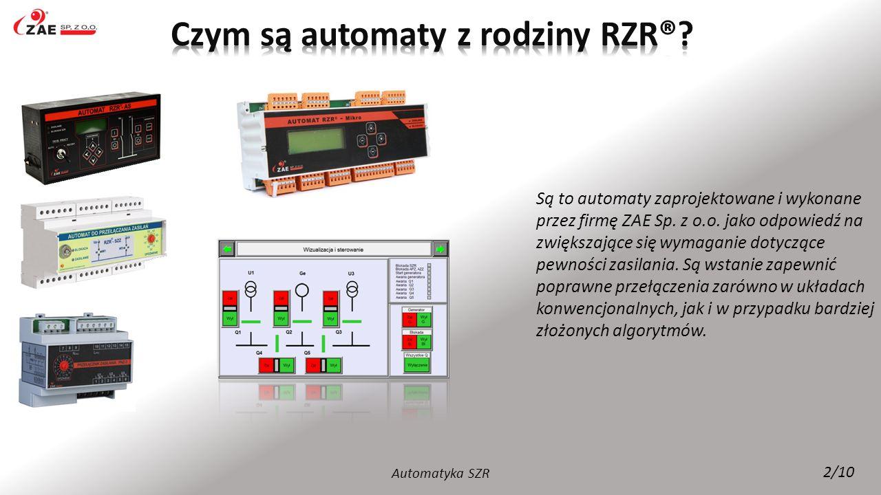 Czym są automaty z rodziny RZR®