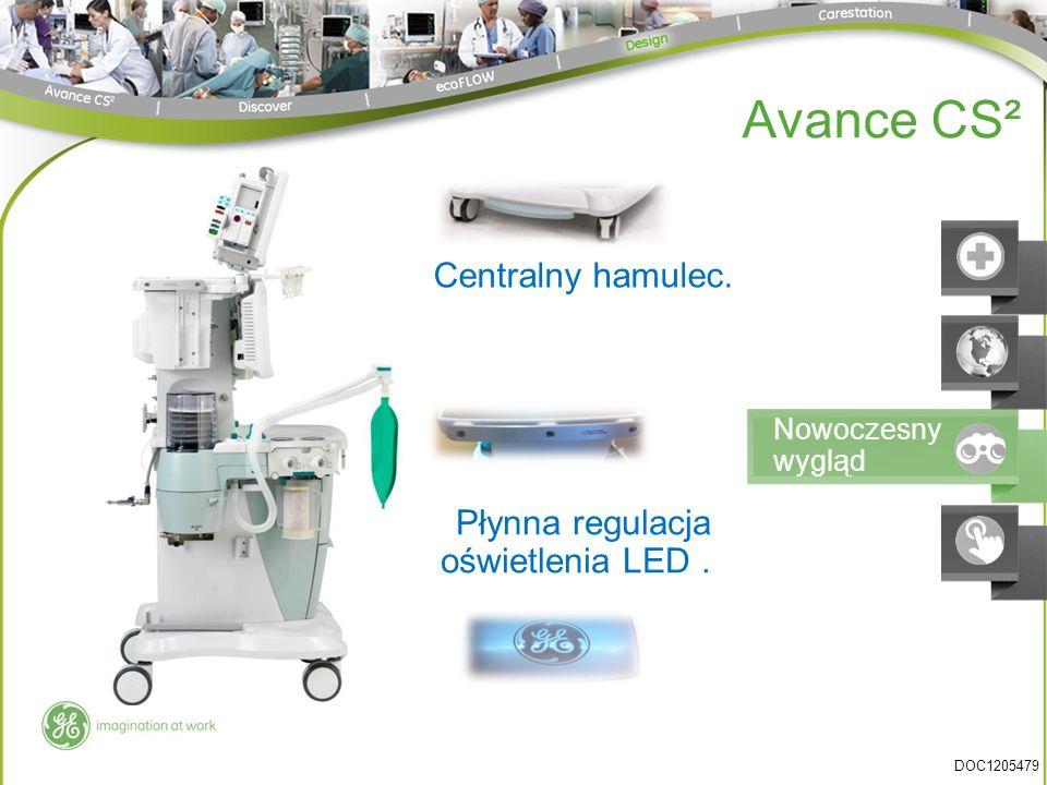 Avance CS² Centralny hamulec. Płynna regulacja oświetlenia LED .
