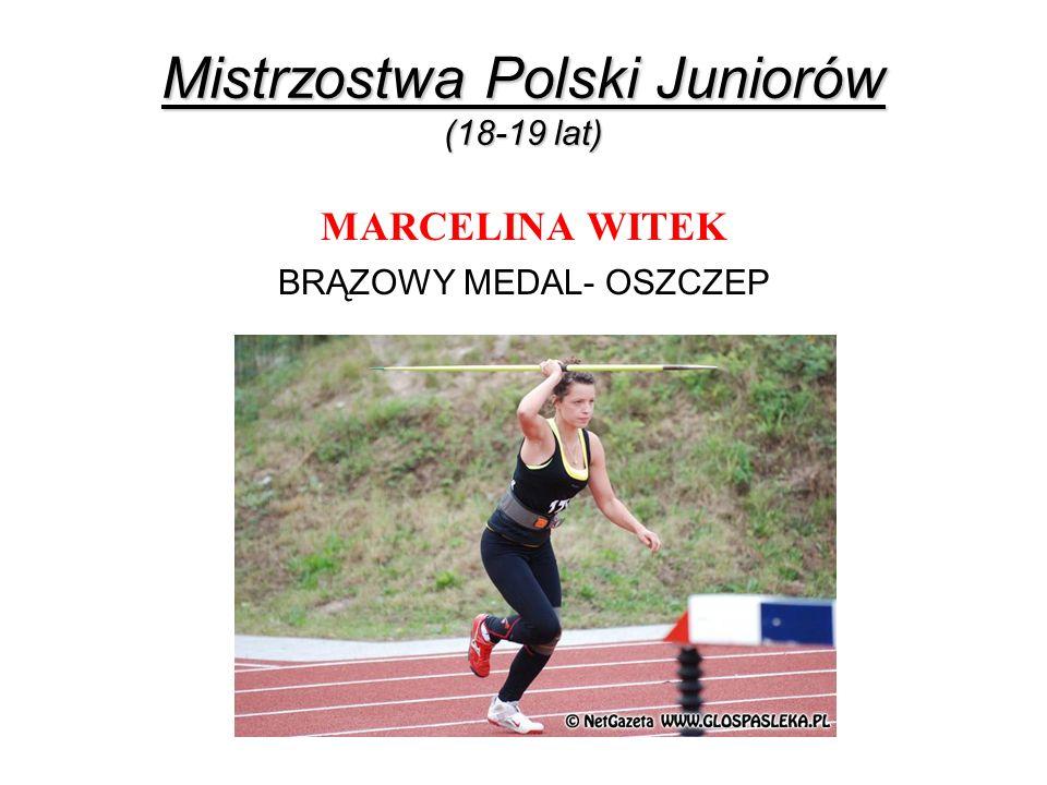 Mistrzostwa Polski Juniorów (18-19 lat)