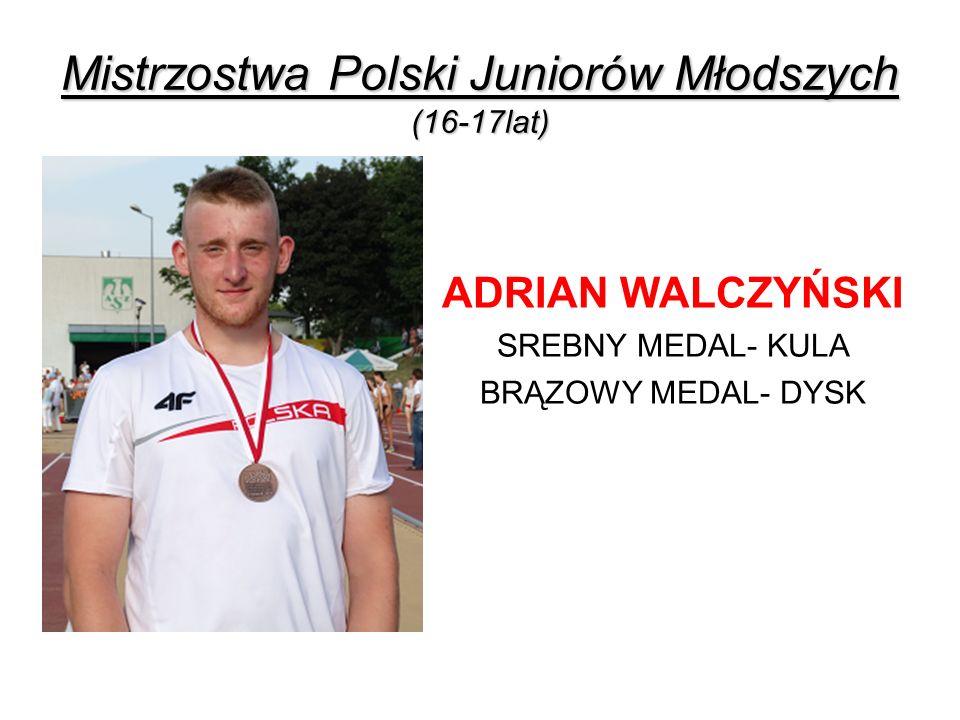 Mistrzostwa Polski Juniorów Młodszych (16-17lat)
