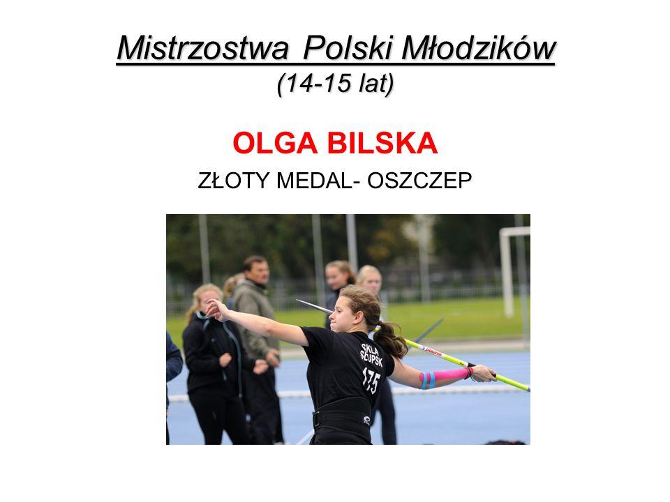Mistrzostwa Polski Młodzików (14-15 lat)