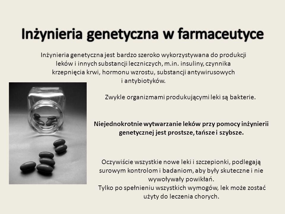 Inżynieria genetyczna w farmaceutyce