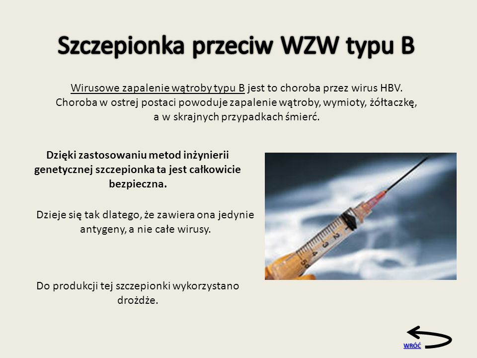 Szczepionka przeciw WZW typu B