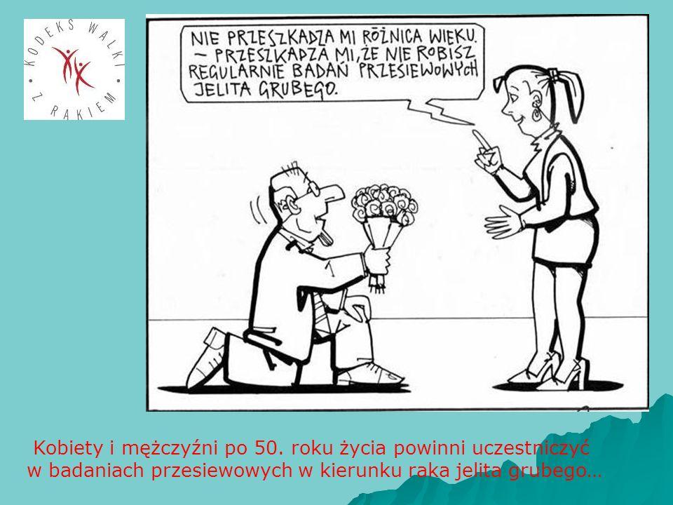 Kobiety i mężczyźni po 50. roku życia powinni uczestniczyć