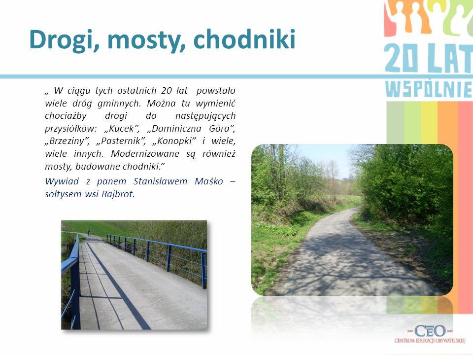 Drogi, mosty, chodniki