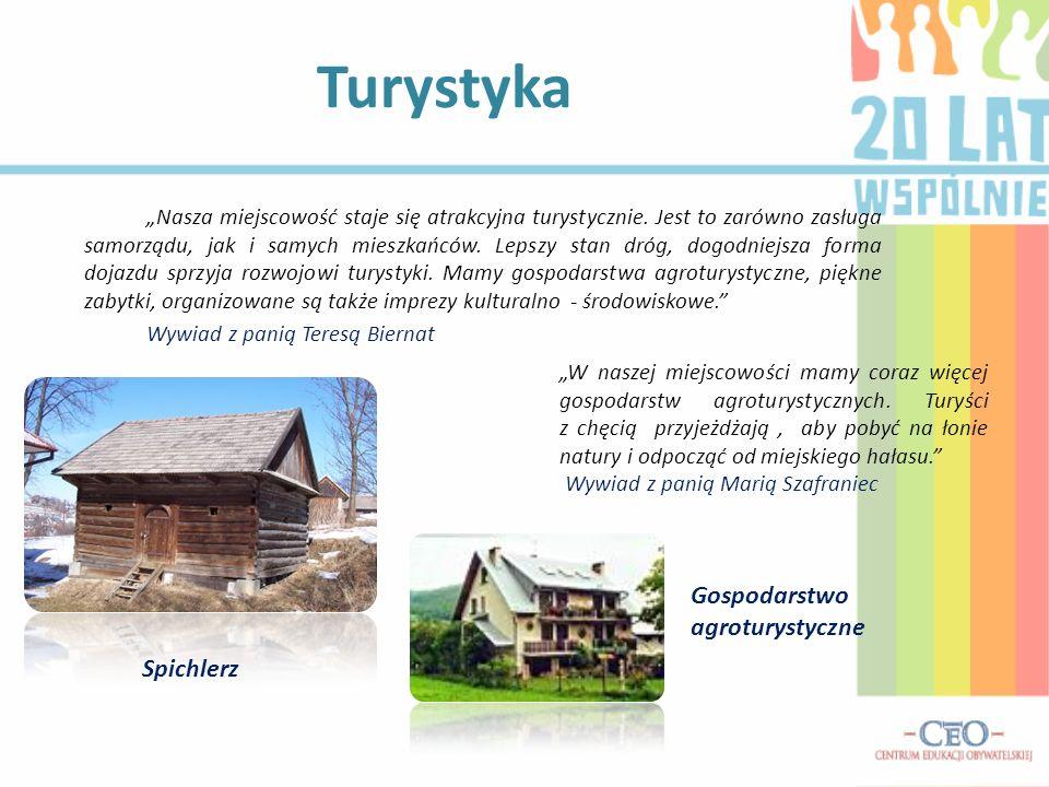 Turystyka Gospodarstwo agroturystyczne Spichlerz