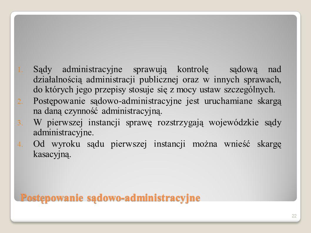 Postępowanie sądowo-administracyjne