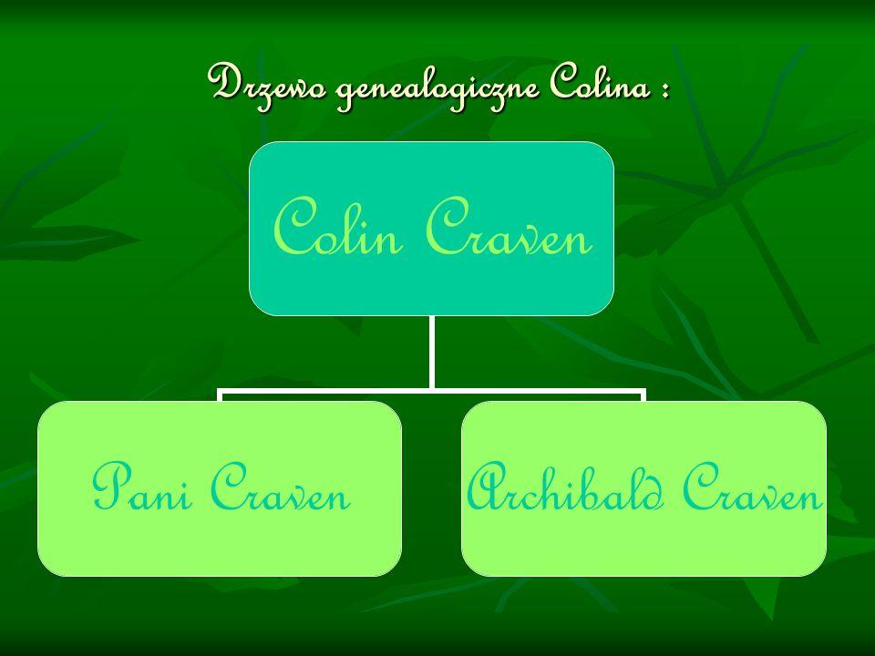 Drzewo genealogiczne Colina :