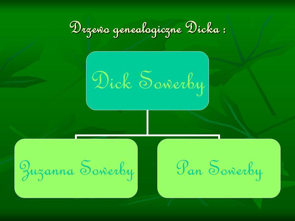 Drzewo genealogiczne Dicka :
