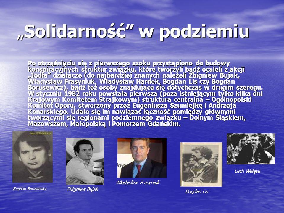 """""""Solidarność w podziemiu"""