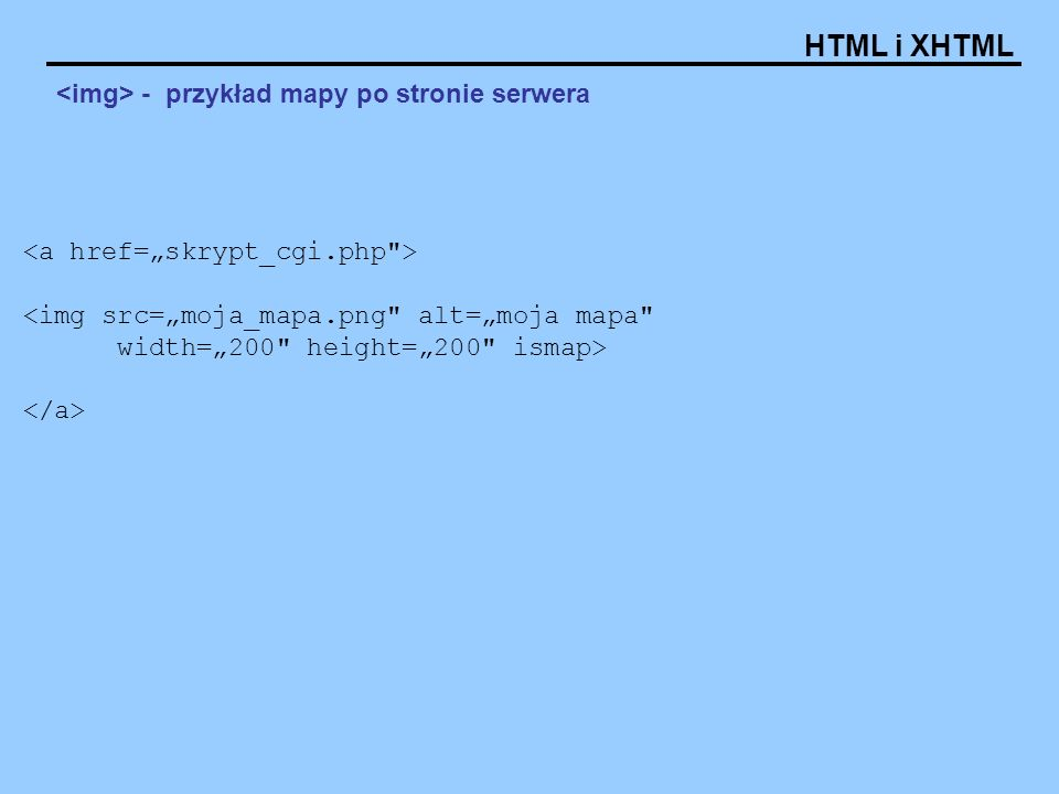 <img> - przykład mapy po stronie serwera