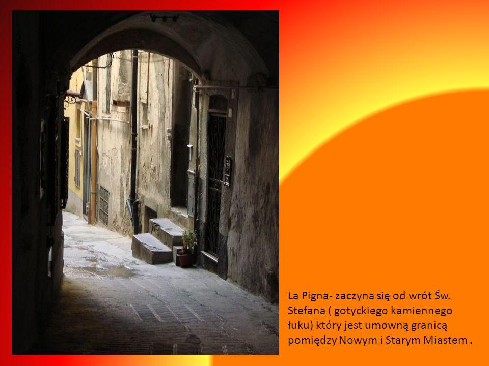 La Pigna- zaczyna się od wrót Św