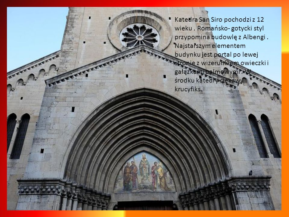 Katedra San Siro pochodzi z 12 wieku