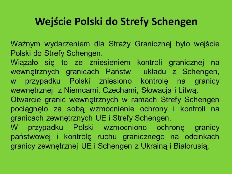 Wejście Polski do Strefy Schengen