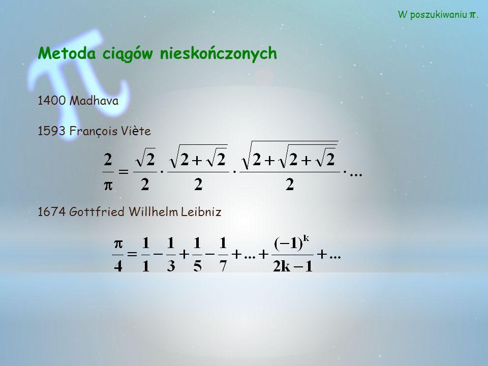 Metoda ciągów nieskończonych